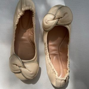 See By Chloe Leather Ballerinas
